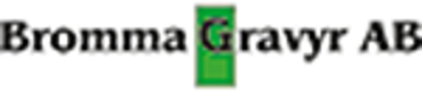 Bromma Gravyr AB logo
