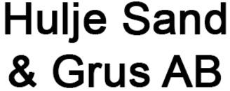 Hulje Sand o. Grus AB logo