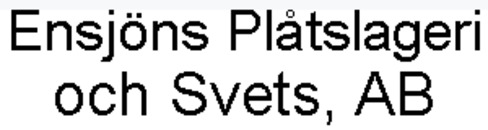Ensjöns Plåtslageri och Svets, AB logo