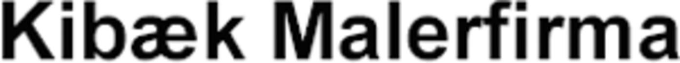 Kibæk Malerfirma logo