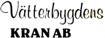 Vätterbygdens Kran AB logo