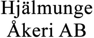 Hjälmunge Åkeri AB logo