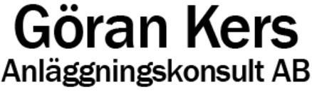 Göran Kers Anläggningskonsult AB logo