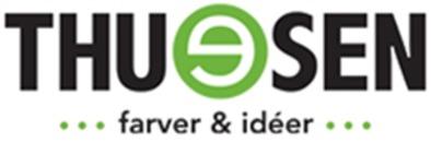Thuesen Farver og Idéer A/S logo