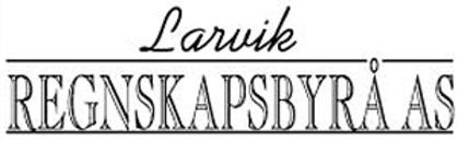 Larvik Regnskapsbyrå AS logo