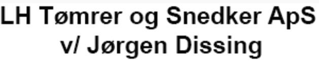 LH Tømrer og Snedker ApS v/ Jørgen Dissing logo