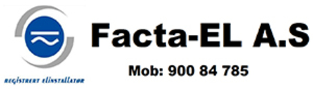Facta El. AS logo