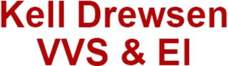 Kell Drewsen VVS & El logo