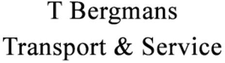 T Bergmans Transport & Service AB logo