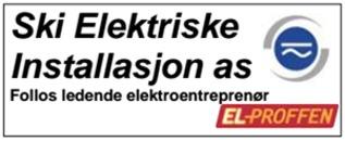 Ski Elektriske Installasjon AS logo