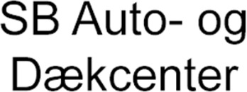 SB Auto- og Dækcenter logo