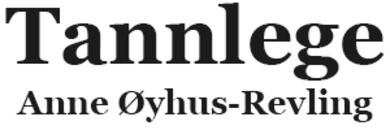 Tannlege Anne Øyhus-Revling logo