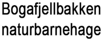 Bogafjellbakken Naturbarnehage logo