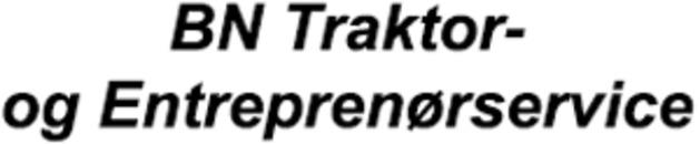 BN Traktor- og Entreprenørservice logo