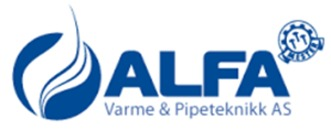 Alfa Varme og Pipeteknikk AS logo