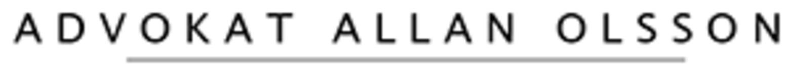 Advokat Allan Olsson logo