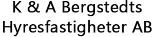 K & A Bergstedts Hyresfastigheter AB logo