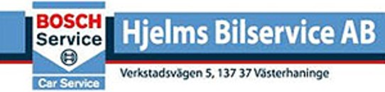 Bosch Car Service- Hjelms Båt & Bilservice logo