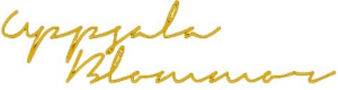Uppsala Blommor logo