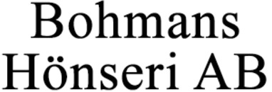 Bohmans Hönseri AB logo