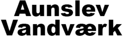 Aunslev Vandværk logo