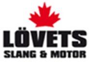 Lövets Slang o. Motor i Kristinehamn AB logo