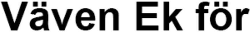 Väven Ek för logo