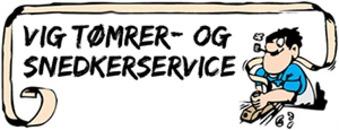 Vig Tømrer- & Snedkerservice logo