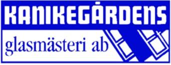 Kanikegårdens Glasmästeri AB logo
