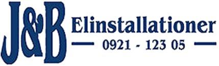 J & B Elinstallationer AB logo