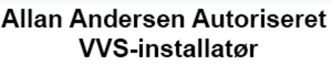 Allan Andersen Autoriseret VVS-installatør logo