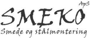 Smeko ApS Smede og Stålmontering logo