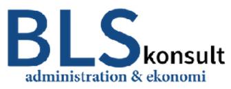 BLS Konsult administration & ekonomi logo