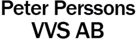 Peter Perssons VVS AB logo