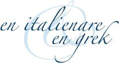 Restaurang En Italienare & En Grek logo