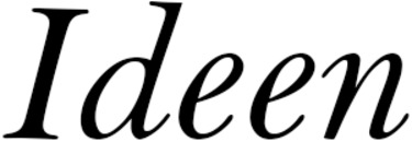Ideen logo