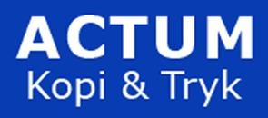 Actum Kopi & Tryk logo