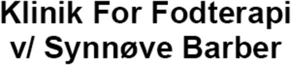 Klinik For Fodterapi v/ Synnøve Barber logo