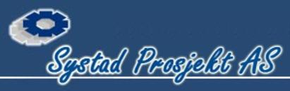 Systad Prosjekt AS logo