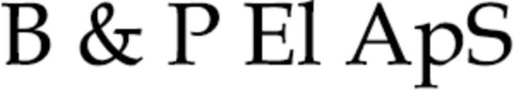 B & P El ApS logo