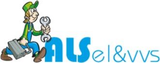 Als El & VVS ApS logo