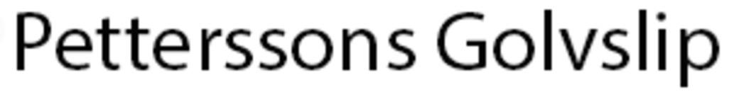 Petterssons Golvslip logo
