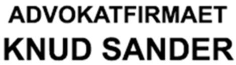Advokat Knud Sander logo