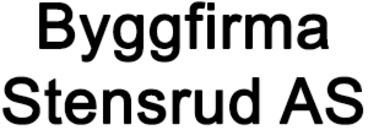 Byggfirma Stensrud AS logo