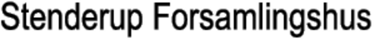 Stenderup Forsamlingshus logo