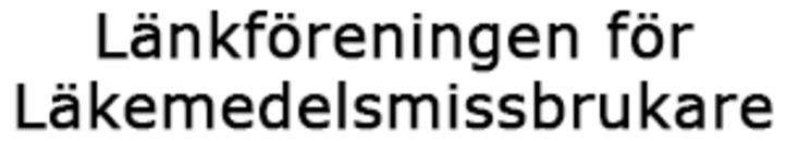 Länkföreningen för Läkemedelsmissbrukare logo