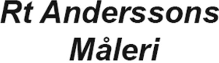 Rt Anderssons Måleri AB - Kent Widell logo
