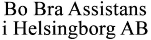 Bo Bra Assistans i Helsingborg AB logo