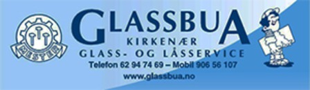 Glassbua Glass og Låsservice logo