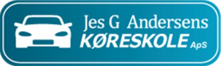 Jes G. Andersens Køreskole logo